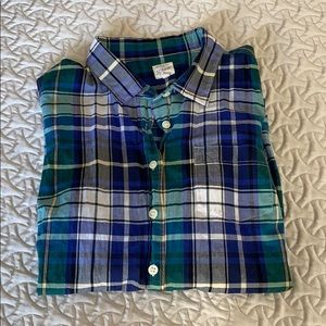 Jcrew Plaid Shirt